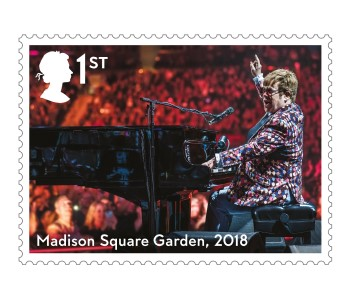 Madison Square Gardens - FIRST LOOK: NEW Elton John Stamps announced today