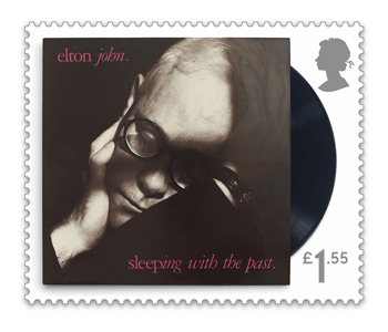 Sleeping with the past - FIRST LOOK: NEW Elton John Stamps announced today