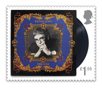 The One - FIRST LOOK: NEW Elton John Stamps announced today