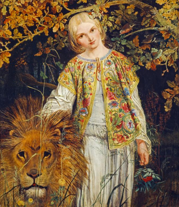 Una and the Lion Painting - The blend of fact and fiction that resulted in the world's most beautiful coin
