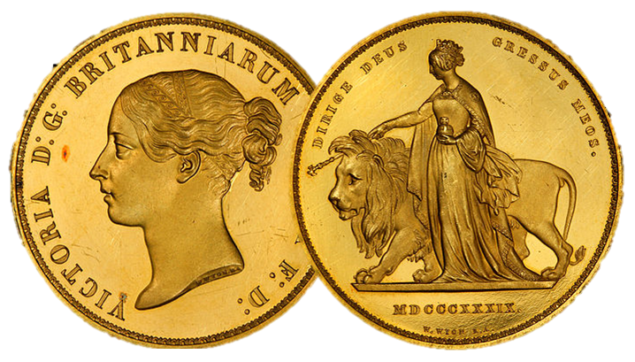 Una and the Lion origianl Obverse Reverse - The blend of fact and fiction that resulted in the world's most beautiful coin