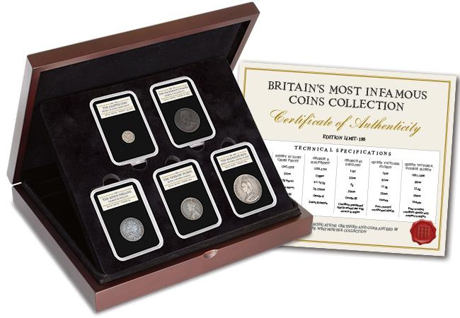 st britains most infamous coins set web images - Britain's top 5 most infamous coins revealed!