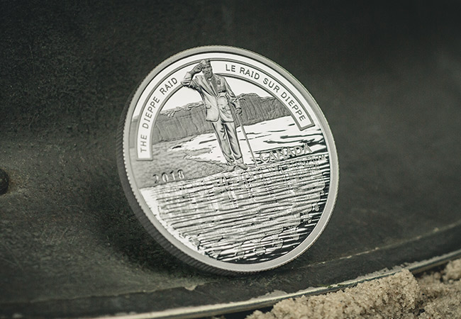 Canada 2018 Dieppe Raid 1oz Silver Proof Coin Reverse Lifestyle1 - Before Utah, Omaha, Gold, Juno, and Sword there was Dieppe