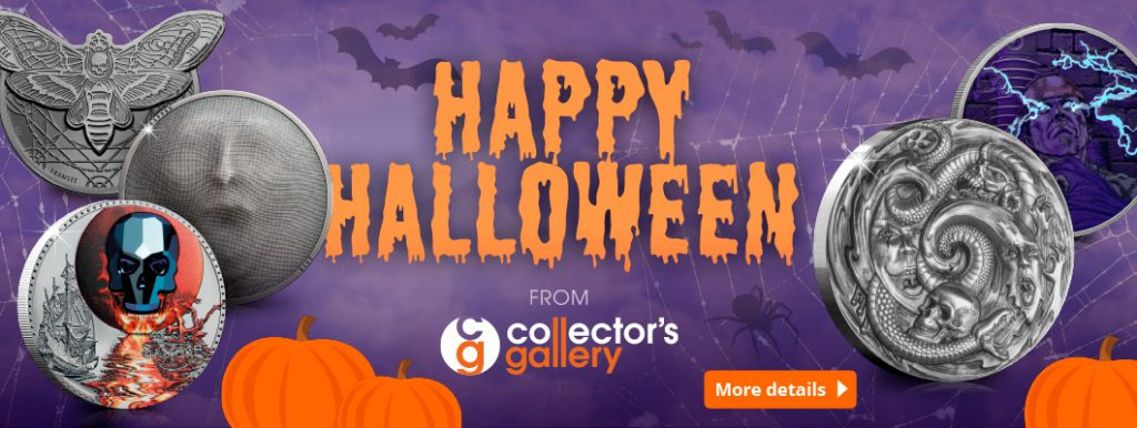 DN Collectors Gallery 2019 Halloween homepage banner 1024x386 - 'Creeping' it real this Halloween? An exclusive look into some of the world's scariest coins…