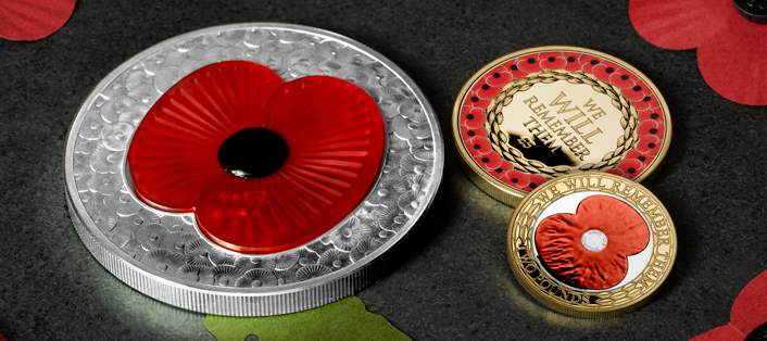 LS 2019 Jersey Poppy Coins Group Facebook 828x315 - The FOUR Remembrance Poppy Commemoratives every collector should know about…