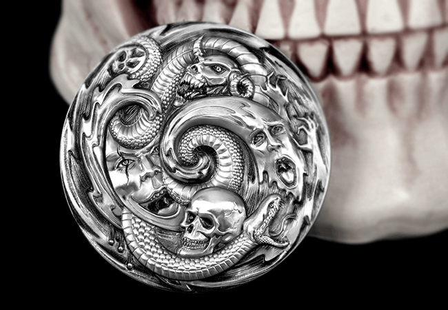 PB Pandora Lifestyle - 'Creeping' it real this Halloween? An exclusive look into some of the world's scariest coins…