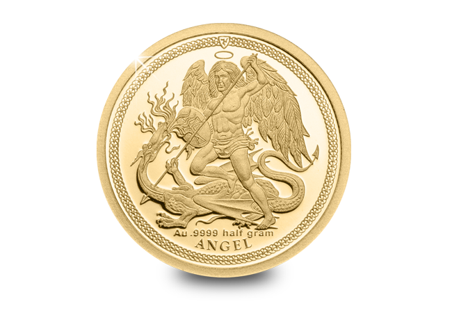 LS IOM 2018 Small Gold Guardian Angel Reverse - It's beginning to look a lot like Christmas…