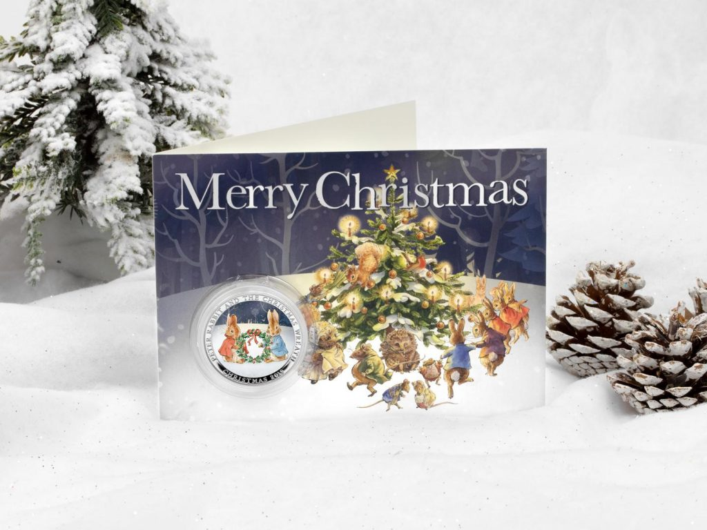 Peter Rabbit Christmas Wreath Card lifestyle Copy 1024x768 - Our top festive collector picks this Christmas...