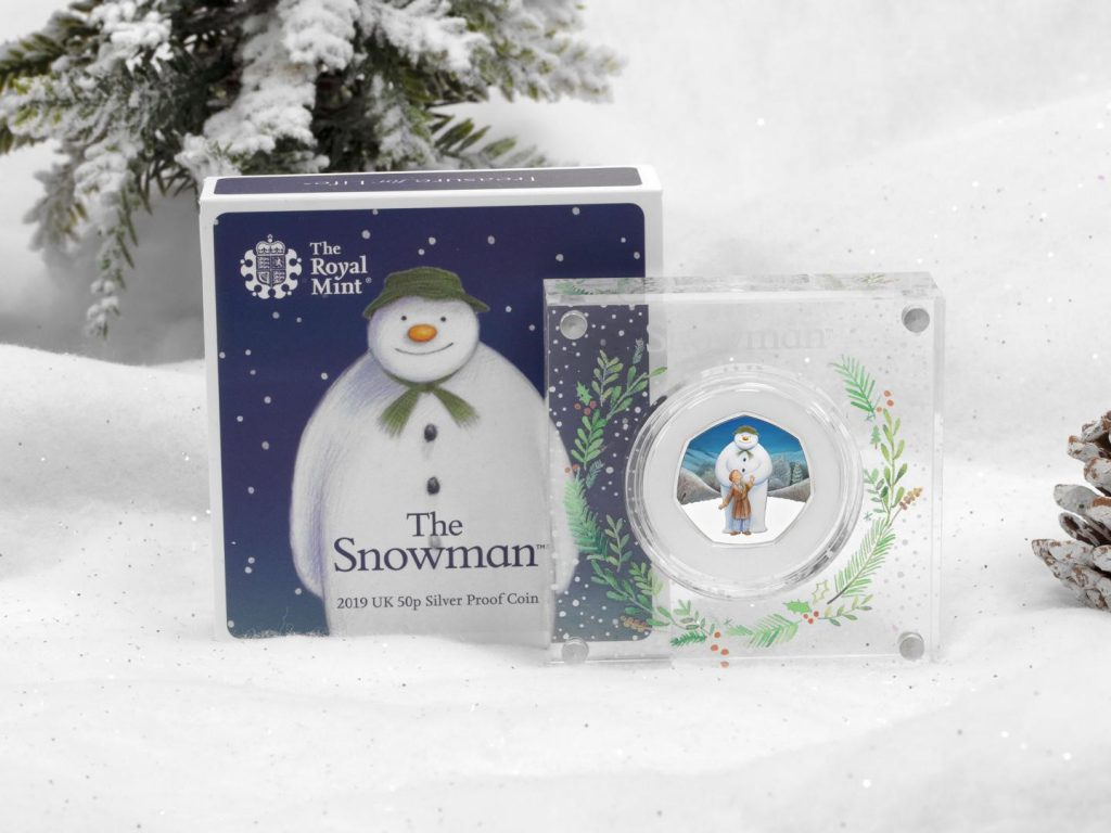 Snowman 50p Silver lifestyle box Copy 1 1024x768 - Our top festive collector picks this Christmas...