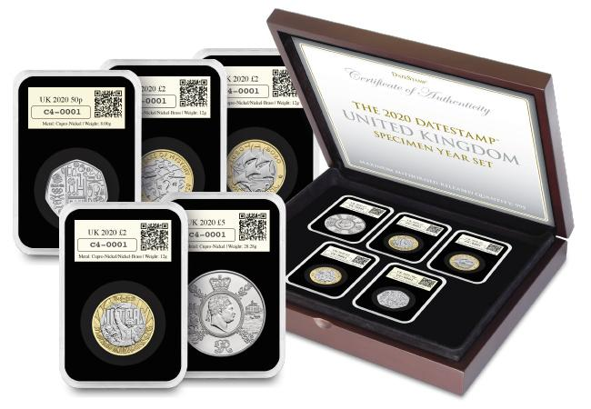 Blog Image 4 option 1 - FIRST LOOK! Brand new UK commemorative coins released for 2020