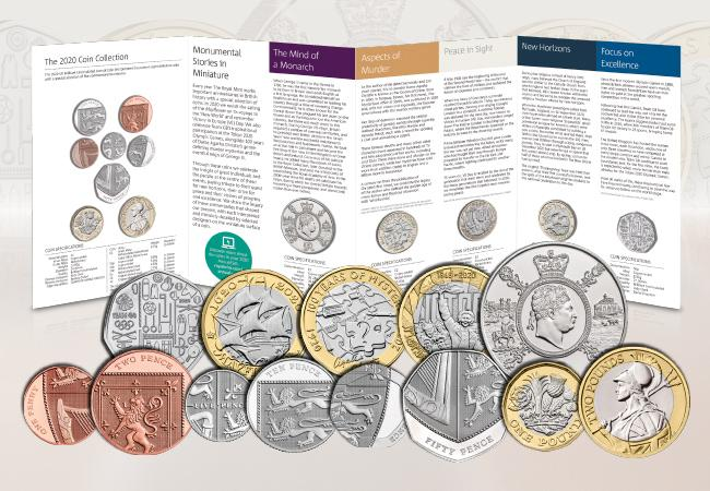 Blog image 2 - FIRST LOOK! Brand new UK commemorative coins released for 2020