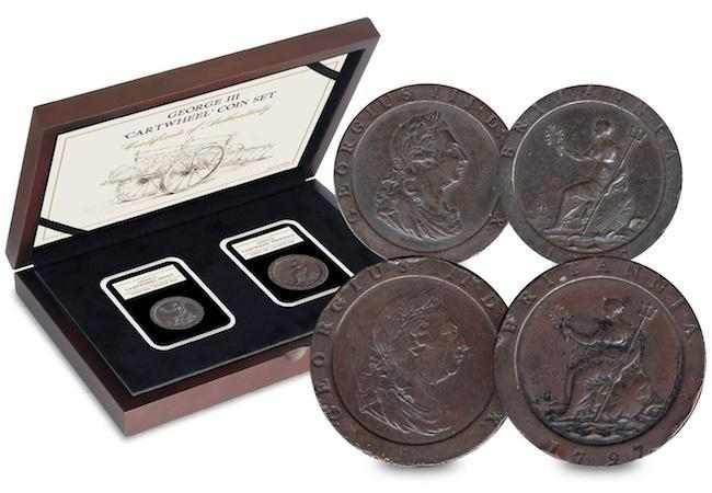 george iii cartwheel coin set - The most famous penny of them all
