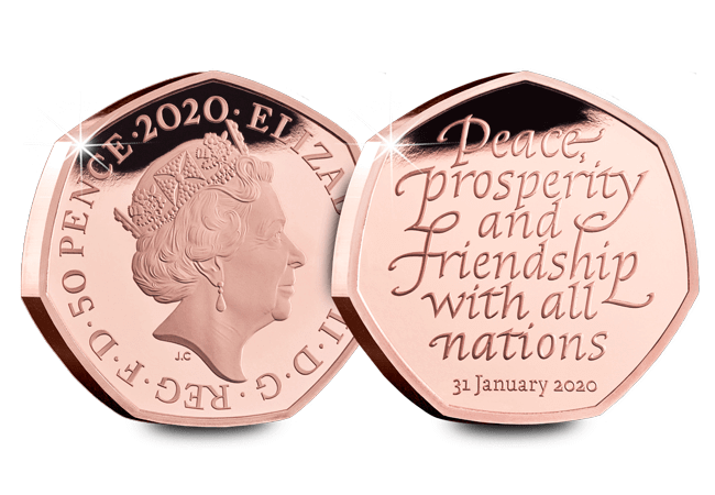 CL Brexit 50p Web images 15 - The most anticipated coin of the decade – the official UK Brexit 50p