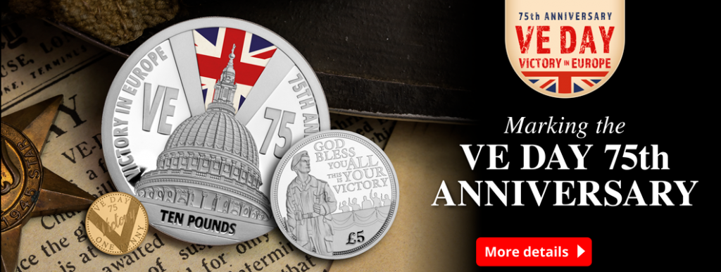 CL VE Day Homepage Banners ALL 1024x386 - Our top VE Day 75th Anniversary Coins revealed in special new show
