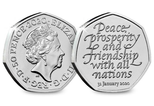 change checker 2020 brexit bu 50p product images coin obverse reverse - Sorry, we're really busy right now with demand for the Brexit 50p.