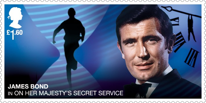 George Lazenby - FIRST LOOK: NEW James Bond Stamps just revealed!