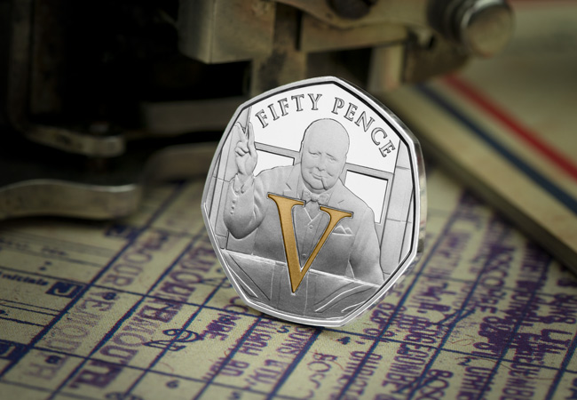 LS 2020 IOM Silver Proof V single 50p Victory lifestyle - SEVEN brand new Victory 50p Coins revealed!