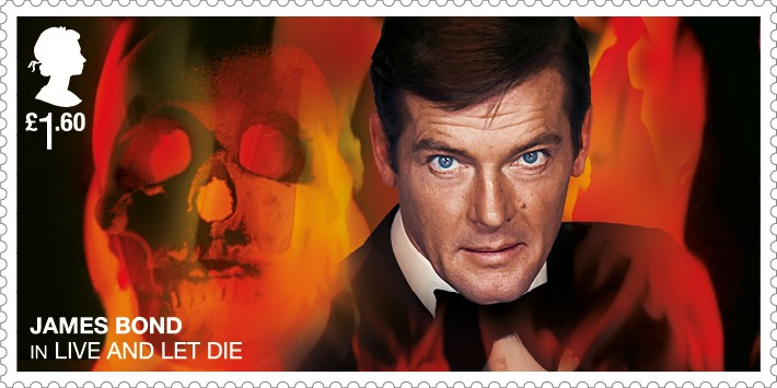 Roger Moore - FIRST LOOK: NEW James Bond Stamps just revealed!