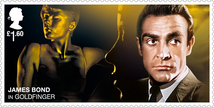 Sean Connery - FIRST LOOK: NEW James Bond Stamps just revealed!