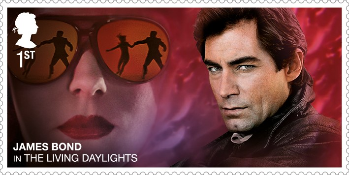 Timothy Dalton - FIRST LOOK: NEW James Bond Stamps just revealed!