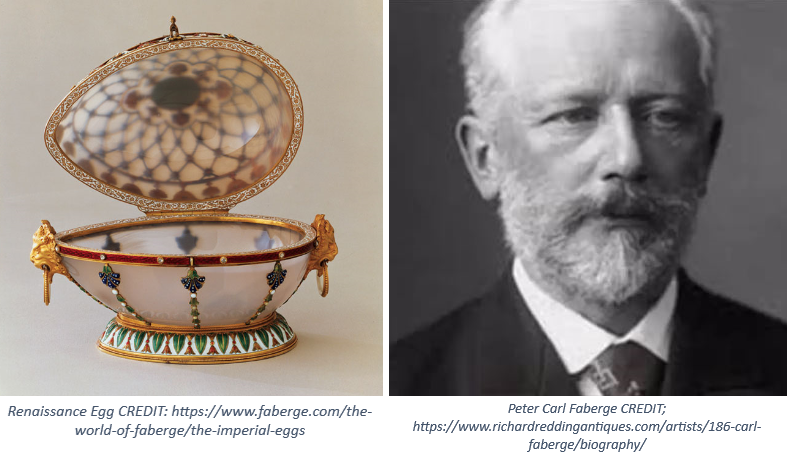 1 and 2 1 - An 'egg'cellent piece of craftsmanship from The House of Fabergé …