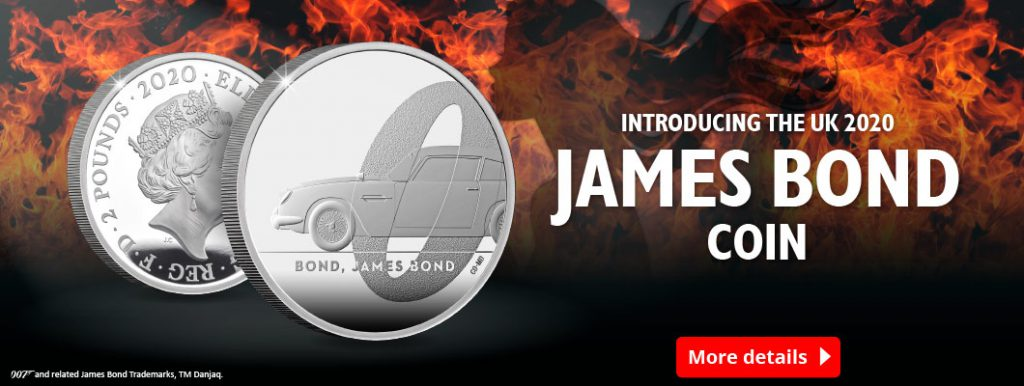 DN 2020 Silver 1oz James Bond coin Homepage Banner 1060x400 3 1024x386 - Introducing the Official UK 2020 James Bond Coin