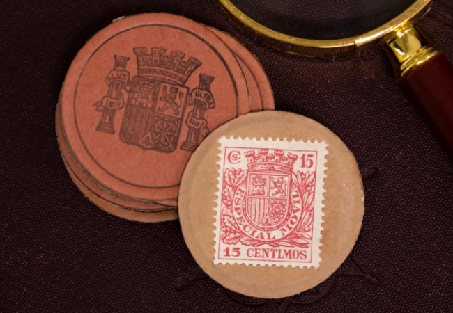 DN Spanish Civil War Emergency Money Capsule Product Images 3 - Imagine using a cup, a stamp, or cardboard as a coin...