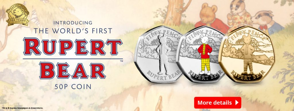 DN rupert bear 50p coins homepage banners 1 1024x386 - Breaking News: WORLD'S FIRST Rupert Bear 50p Coins released
