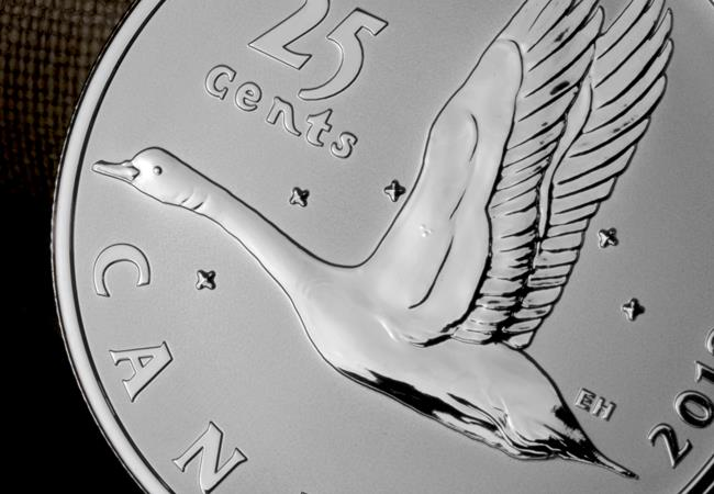 4 ls canada 2018 coin lore goose 25 cents lifestyle detail - The NEVER-SEEN-BEFORE coins of Canada's numismatic past…