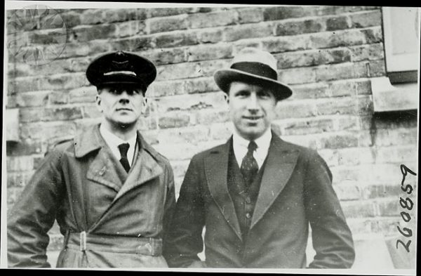 Arthur Whitten Brown and John Alcock in 1919 600x393 1 - How a £10,000 reward led to one of the greatest advancements in aviation