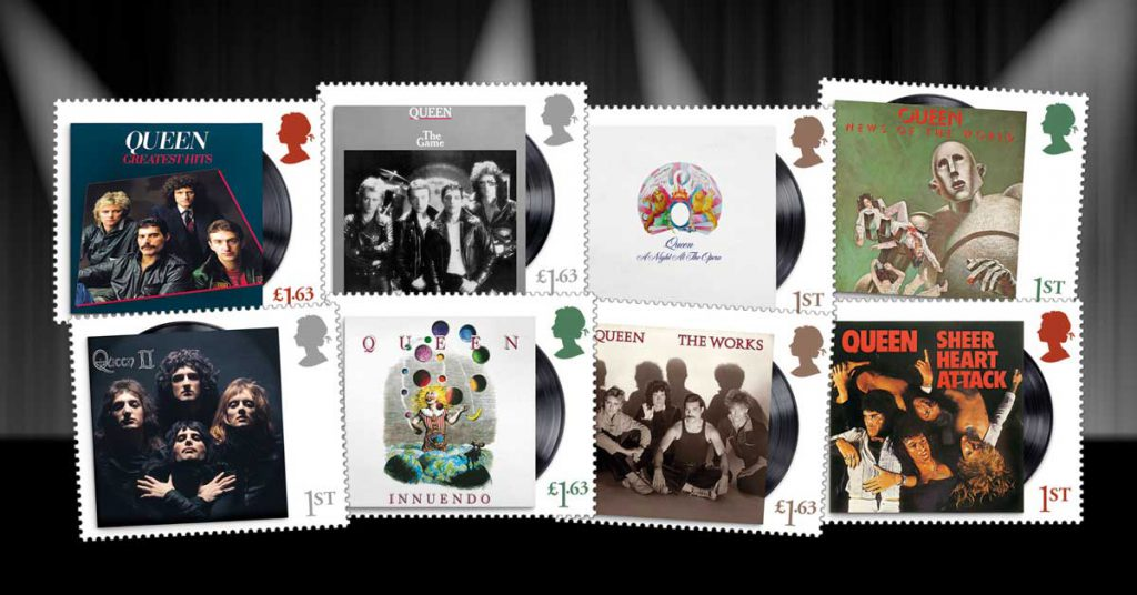 CL Queen stamps web images Social 1200px 1024x536 - First Ever Royal Mail Queen Stamps Announced