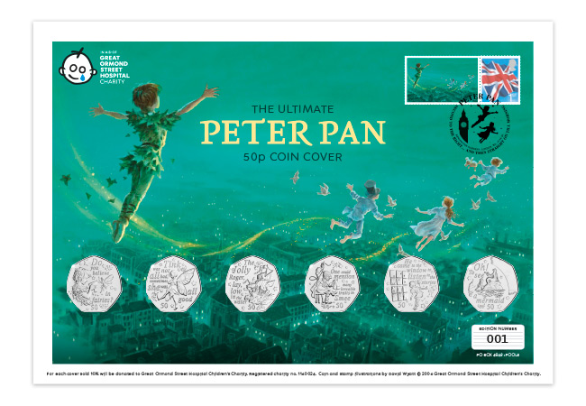 DN 2020 Peter Pan silver Ultimate BU PNC cover product images 4 - Are you ready to return to Neverland? First look at the BRAND NEW Peter Pan 50p Coins…