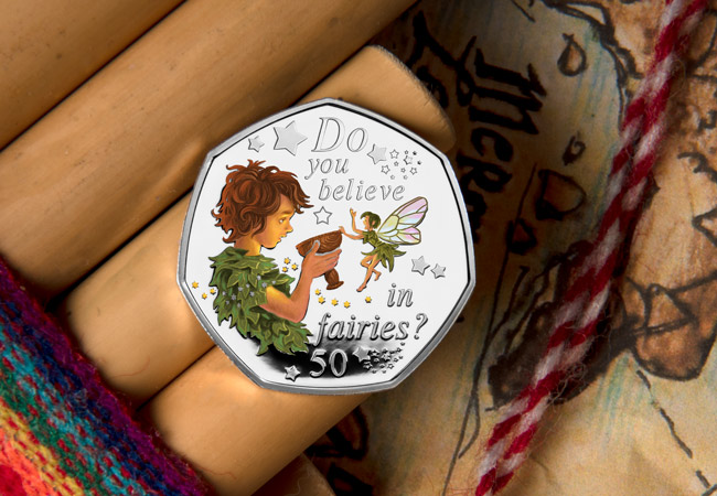 LS IOM Silver with colour 50p Peter Pan Poison both single lifestyle 2 1 - Are you ready to return to Neverland? First look at the BRAND NEW Peter Pan 50p Coins…