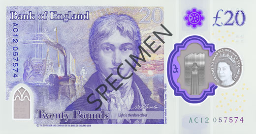 polymer 20 specimen back 1 1 - The secrets hidden in Britain's most secure banknote yet