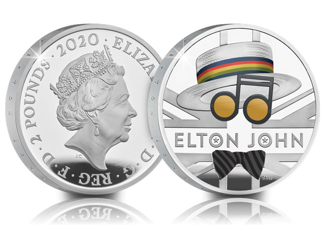 2020 UK Elton John coin range product images 11 - Welcome to the Music Legends coin family, Elton John!