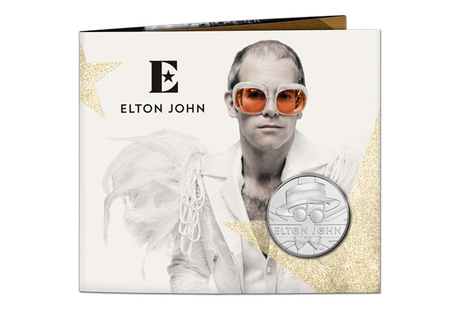 2020 UK Elton John coin range product images 4 - Welcome to the Music Legends coin family, Elton John!