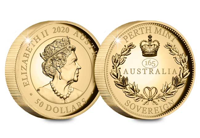 Australia piedfort sovereign web image 1 - The most collectable Sovereign yet – Australia's FIRST ever Piedfort Sovereign