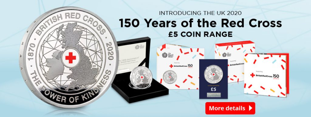 DN 2020 150th Anniversary of the British Red Cross £5 Coin homepage banner 1 1024x386 - Everything you need to know about the UK British Red Cross £5 Coin
