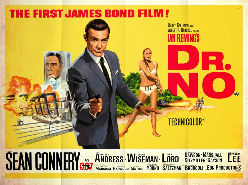 Dr No poster - Six icons we owe to the Sixties