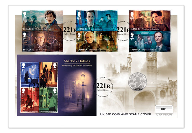 Sherlock web campaign 1 - The game is afoot – BRAND NEW Royal Mail Sherlock stamps announced