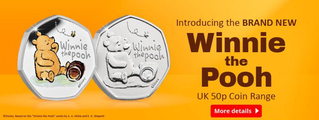 UK 2020 Winnie the Pooh 50p Coin Range Homepage Banner 1024x386 - WIN a Winnie the Pooh Silver Proof 50p!