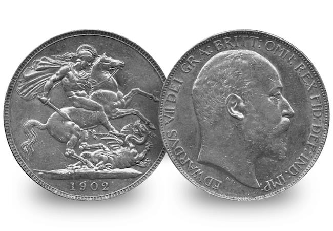 edward vii 1902 silver crown obverse reverse - EXPERT GUIDE: building a historic coin collection