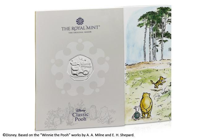 uk 2020 winnie the pooh bu pack product page images pack front - Introducing the BRAND NEW Winnie the Pooh 50p Coin Range
