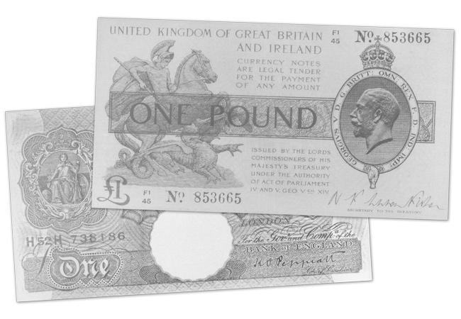 2020 wwi emergency bank note front and back - The British banknote set to sell for up to £12,000!