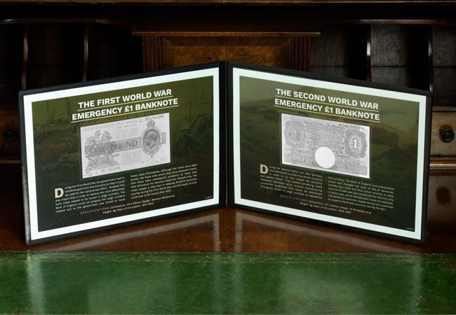 2020 wwi emergency bank note in folder lifestyle - The British banknote set to sell for up to £12,000!