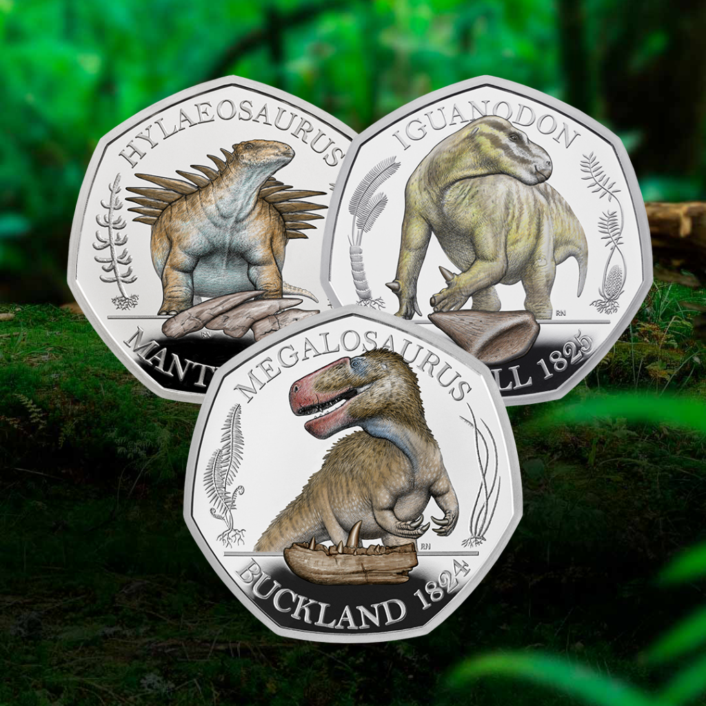DN 2020 Dinosaurus Silver Colour 50p coin instagram 2 1024x1024 - Vote for your coin of the year