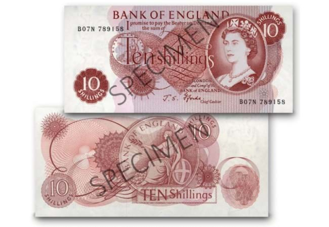 at datestamp 10 shilling note front and back - Decimalisation: Your top five questions answered
