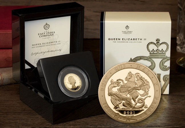 EIC Queens 95th Birthday Sovereign main - The most important gold coin in the world right now