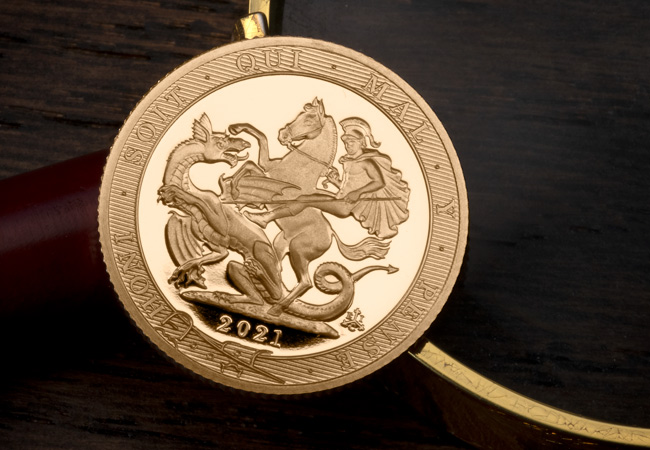 LS EIC Queens 95th Birthday Sovereign rev lifestyle - The most important gold coin in the world right now