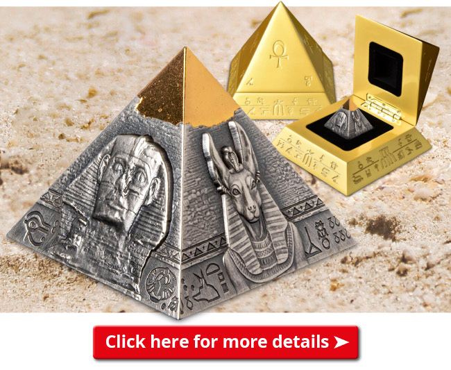 DN 2021 Pyramid of Khafre Coin email banner - Unboxing an Ancient Egyptian masterpiece that's SOLD OUT Worldwide